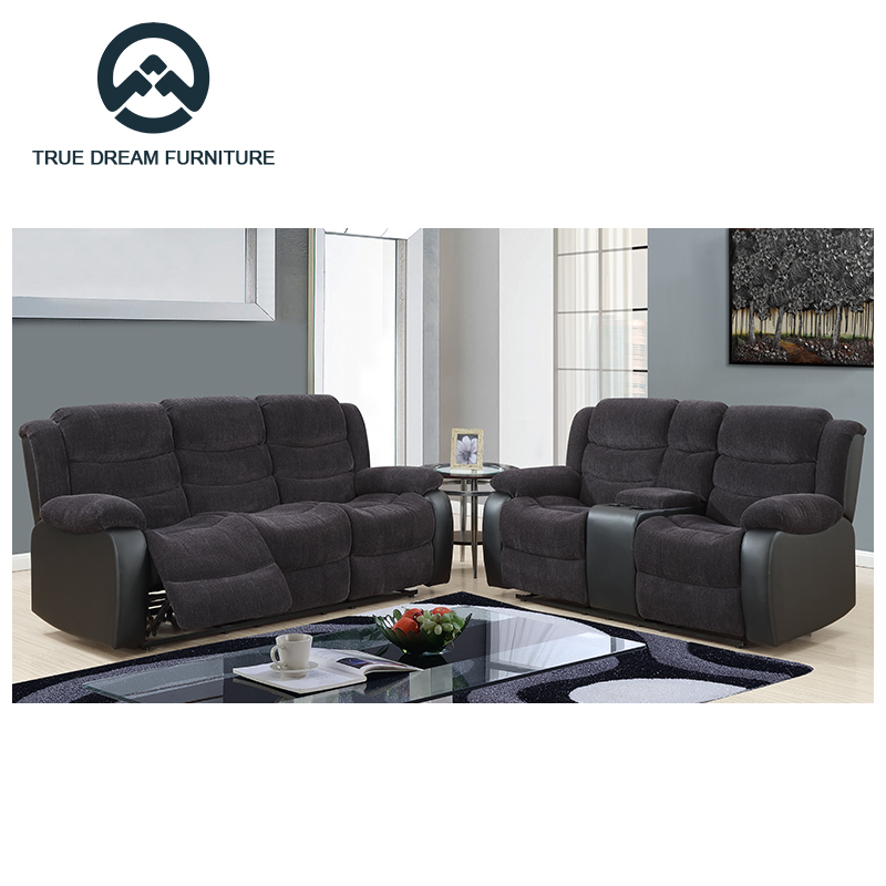 Electric Recliner Motion Sofa Set