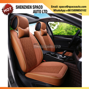Unique Design Leather Fur Car Seat Cover