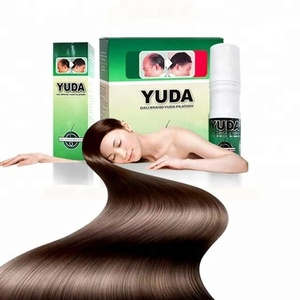 2018 best selling strong version pilatory Yuda hair growth spray hair care product black hair care product
