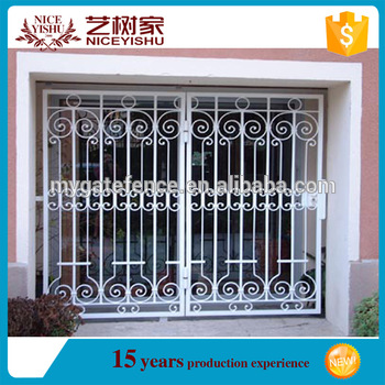 Yishujia Factory Modern Design Window Grills Design Closed Windows