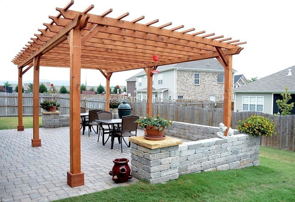 Bricolage Pergola 5x5 M Pergola Moderne Hexagonale Pergola Buy