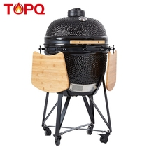 "TOPQ 23 ""Classic Premium BBQ Fornuis Keramische <span class=keywords><strong>Grill</strong></span> <span class=keywords><strong>Kamado</strong></span>"