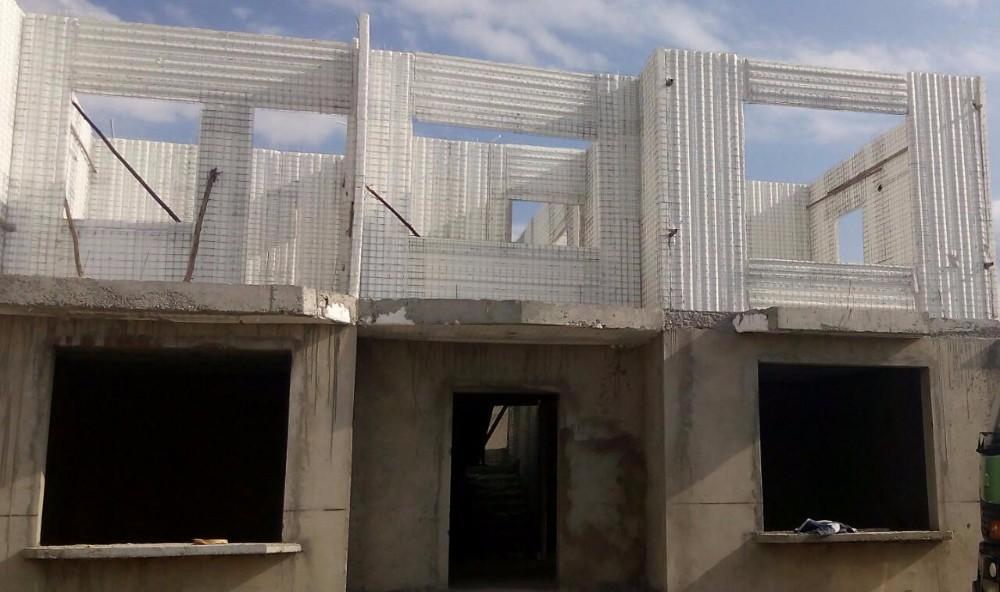 Eps 3d Panel : Automatic eps d panel steel wire mesh welding machine