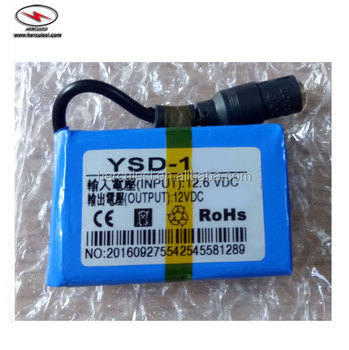 Dc Lithium 12v 7ah 18650 Li-ion Backup Battery Pack - Buy 12v 18650 Battery  Pack,Li-ion Battery Pack 12v 10ah,Li-ion Backup Battery Pack Product on