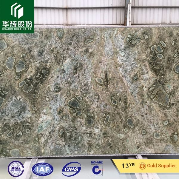 Luxury Stone Seattle Green Granite With Cell Wipe Pattern For Tiles Bathroom Wallpaper Floor