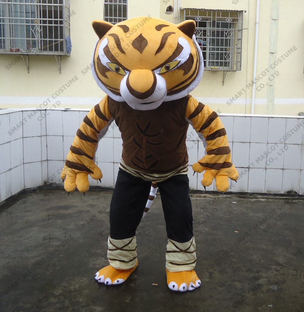 adult tiger mascot costume wear a suit for sale tiger mascot costume