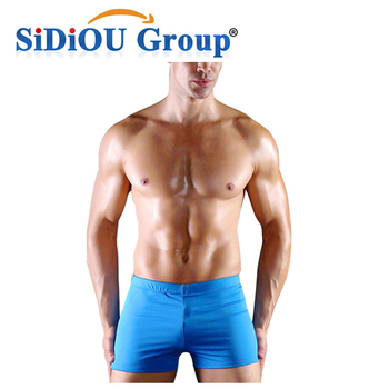 Sidiou Group Men S Swimming Trunks High End Beach Pants Fashionable Boxer For Hot