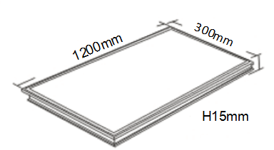 Hot Sale Led Panel Light 90x90 Cm Led Square Panel Light 40w ...