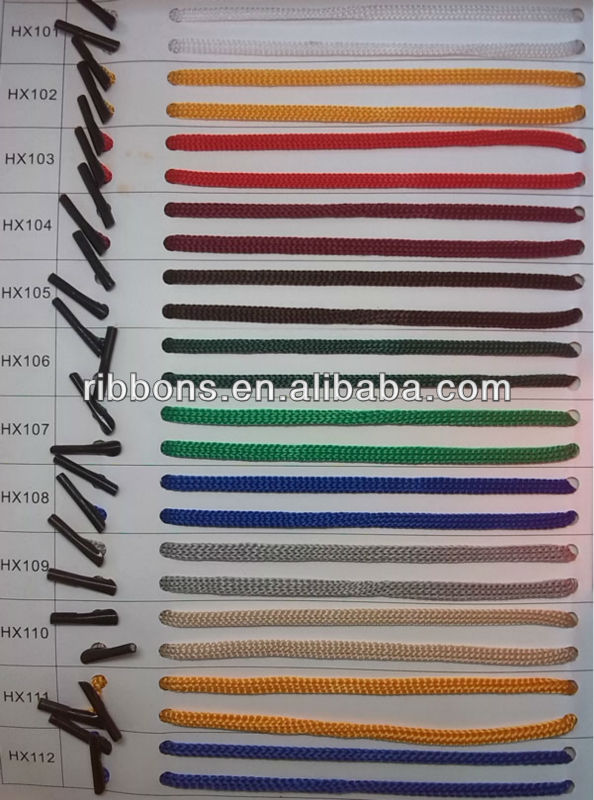 low elastic polyester rope 10mm polypropylene packing rope