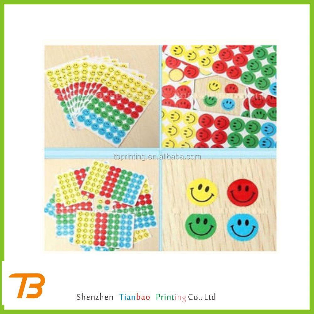 Wholesale small fancy reward stickers printing