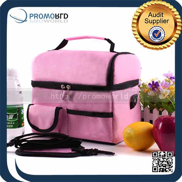 Promotional custom high quality insulated lunch cooler bag