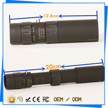 Double Focus multi-purpose 10-30x25 military grade monocular for distant view and close-shot