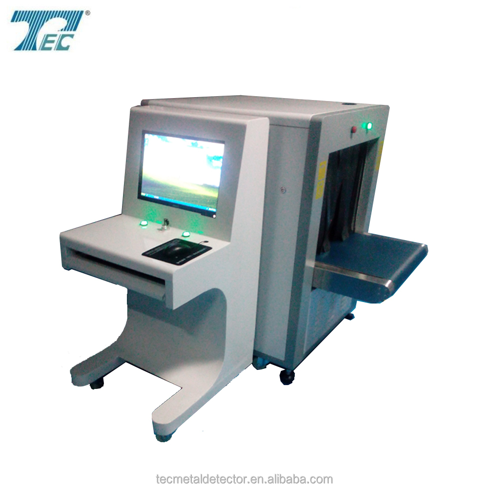 train station and airport baggage&cargo inspection x-ray machine TEC-6550 security checking devices