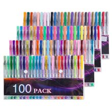 Free sample Test good 100 color gel ink pen set 240 120 60 48 24 packing can be customized