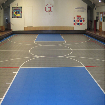 International standard futsal used PP interlocking court tiles