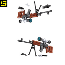 Hot koop bricks SVD sniper rifle nr 8 fashion design bouwstenen