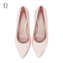 Italian leather sandals ladies latest high heel ladies office shoes for women shoes