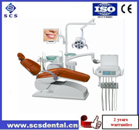 SCS-A6800 FLoor Stand Dental Unit /Electric Power Source /Imported solenoid valve