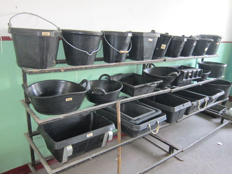 Rubber Pet Feeding Trough Recycled Rubber Tubs For Farming