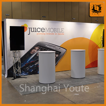 Exhibition Stand Banner : Trade show display wall stand magnetic pop up display stand banner