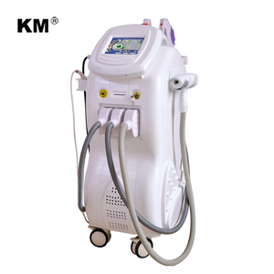 newest multifunction spa equipment with ipl+rf+elight+nd yag laser+cavitation+vacuum