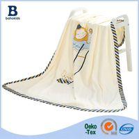 Baho Kids Factory Custom Made Muslim New Born Baby OEM Swaddle Blanket
