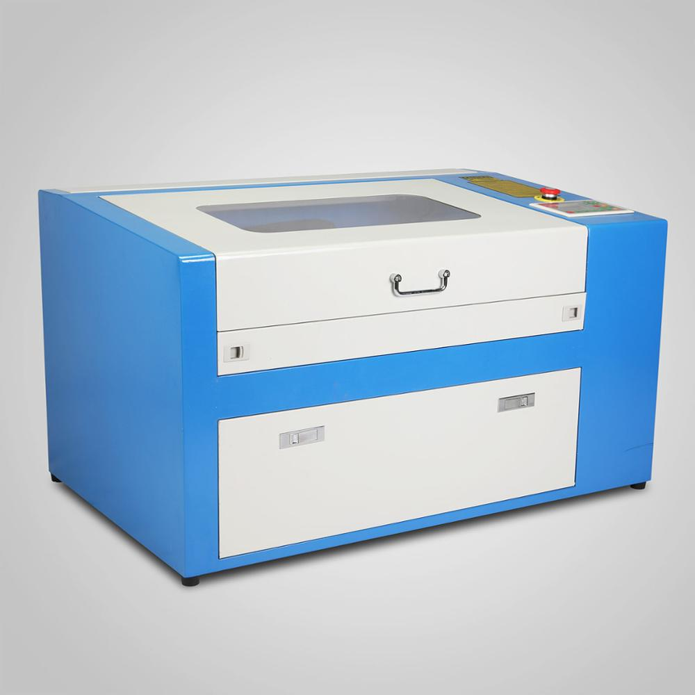 portable laser engraving machine Updated New 50W CO2 Laser Engraving Cutting Machine with Auxiliary Rotary Device CE
