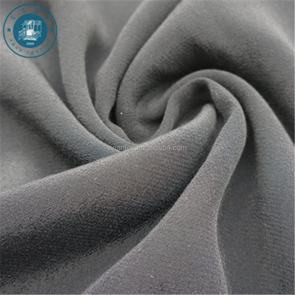 120D 100% Viscose And Rayon Plain Dyed Fabric For Garments And Cloth
