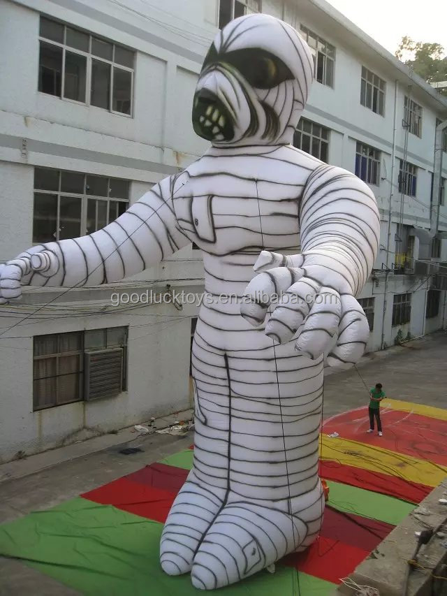 Popularinflatable zombie moving cartoon/Halloween Decor Inflatable Shaking Mummy for sale