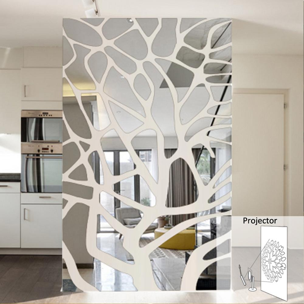 Amazing Wall Mirror Stickers, Wall Mirror Stickers Suppliers And Manufacturers At  Alibaba.com