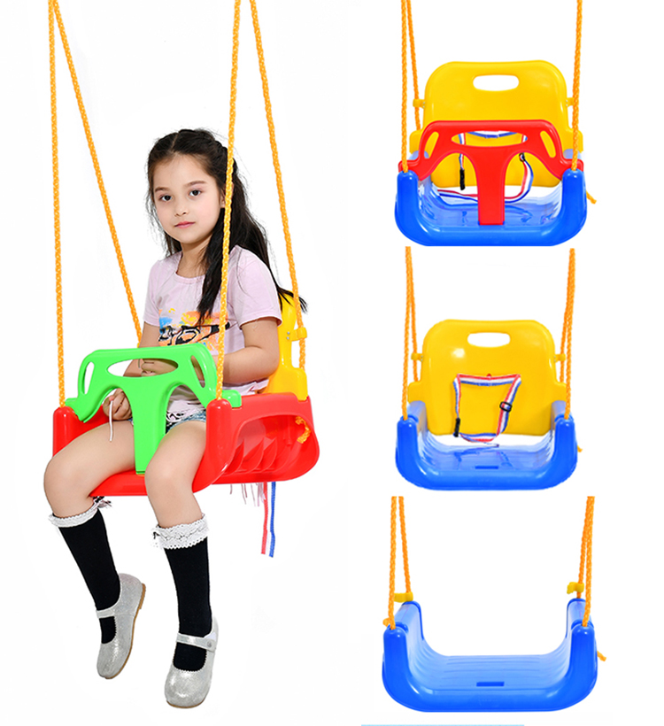 Baby Swing High Chair Plastic Outdoor Hanging Playground Baby