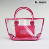 Direct Factory Customized Transparent PVC Plastic Ladies Handbag PVC Beach Bag