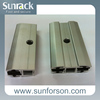 Aluminium mid and end clamps for thin film solar panels