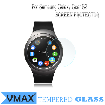Für Smart Watch !! Marke VMAX Ultra Clear 0,33mm 9H Smart Watch gehärtetes Glas Displayschutzfolie für Samsung Galaxy Gear S2