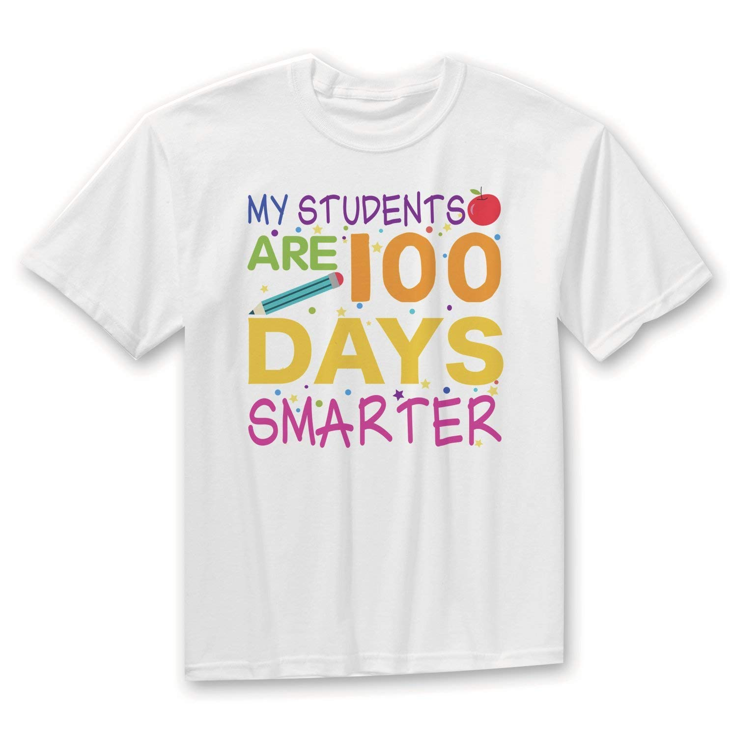 100th Day Teacher Shirt, Teacher Shirt, My Students Are 100 Days Smarter Shirt, 100th Day Teacher T-Shirt, 100th Day of School Shirt, Teach