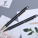 2018 Contrast Color Customize Fancy Metal Ball Pen with Logo for Writing