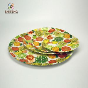 Supreme service design your own dinnerware indian thali plates