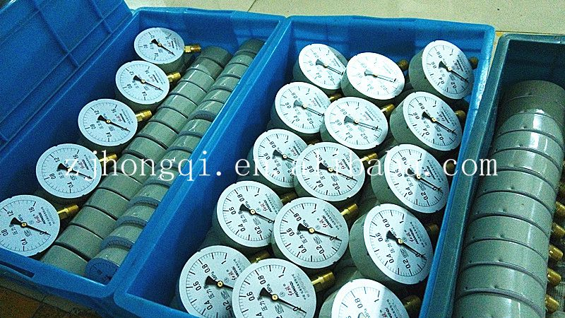 All stainless steel nks differential pressure gauge150mm