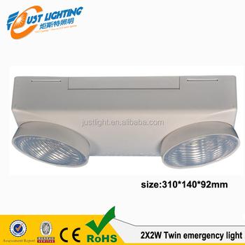 Twin Spots Emergency Light 220v Ul Rechargeable Led Emergency ...
