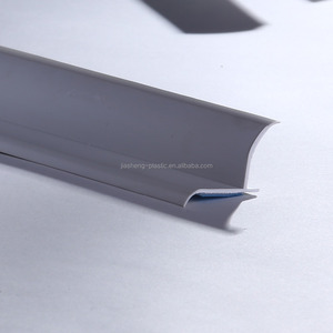 Extruded PVC/upvc plastic building material,housing decoration extrusion PVC plastic profile