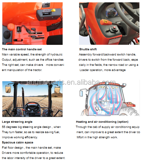 Qln 60hp 4wd With Air Conditioning Tractor Kubota - Buy Kubota Tractors  Model,New Kubota Tractors,Kubota Agricultural Tractors Product on  Alibaba com