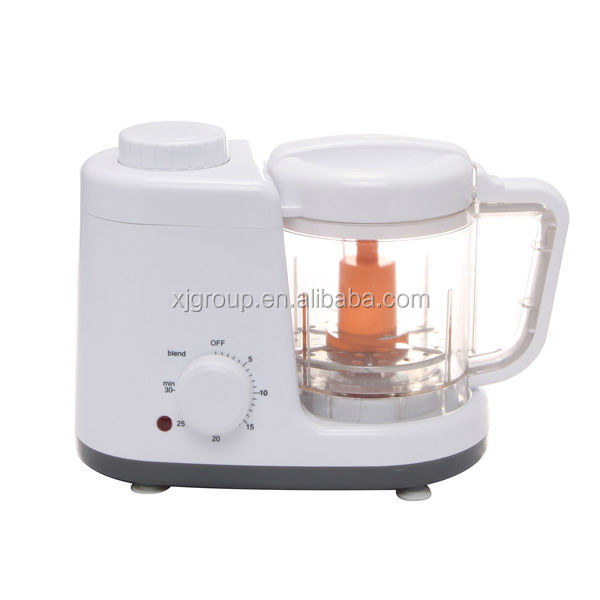 Small home electric Kitchen appliances Food processor with steaming XJ-12406