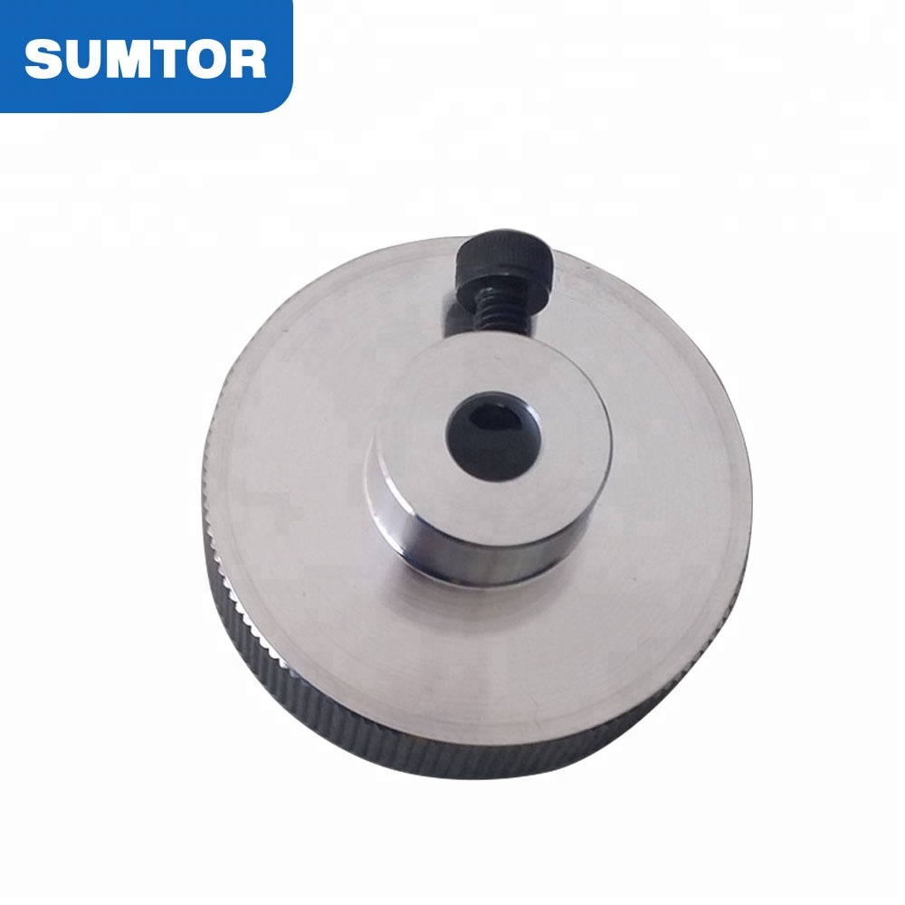 6.35mm or 8mm hole diameter for hybrid stepepr motor nema 23 hand wheel