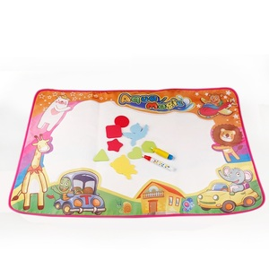 86x57cm Toys Water Drawing Mat Board Painting And Writing Doodle With Magic Pen Non-toxic Drawing Board For Baby Kid