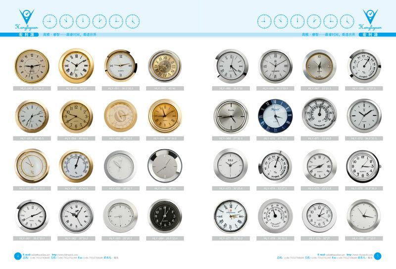 Craft Clock Face,Movable Face Clock,Quartz Clock Insert,Mini Clock ...