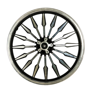Windual low MOQ forged 17 inch motorcycle aluminum alloy wheels