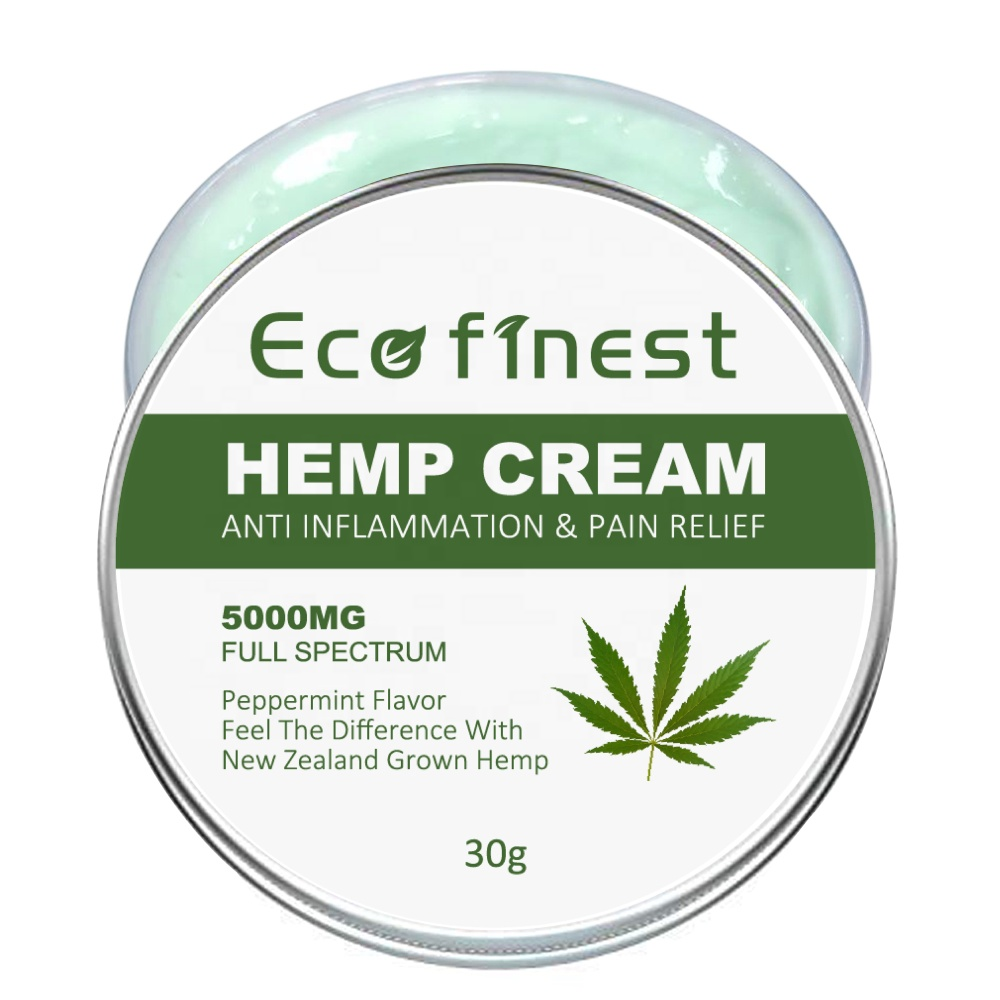 ECO finest OEM/ODM Professional 5000mg Organic Hemp Face Extract <strong>Cream</strong>