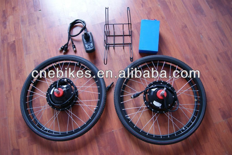 24inch 180W cheap price electric wheelchair handcycle for disable people with joystick controller and hand-built wheel