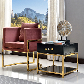 Black small couch matching coffee table and side table drawer sofa side tables for drawing room