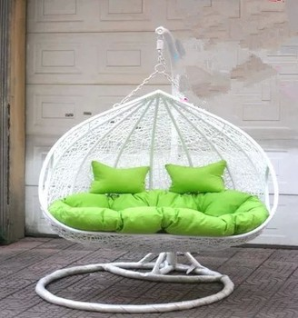 Rattan Chair Double Swing